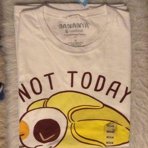 Bananya Cat Graphic T-shirt Kawaii Back-to-School